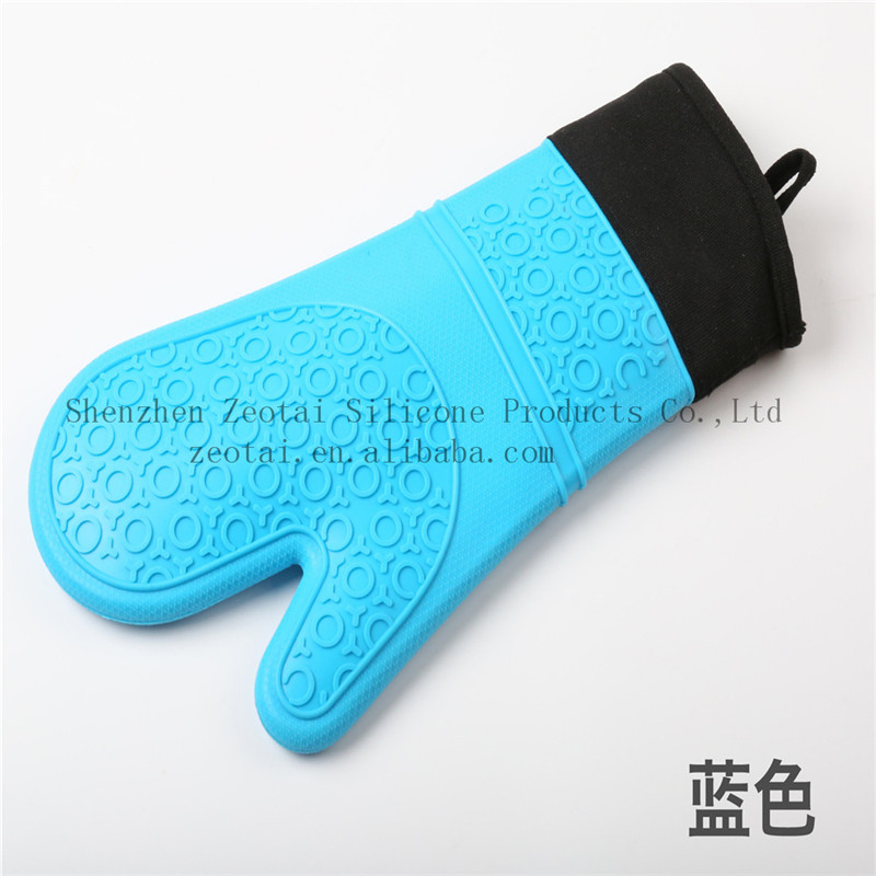 Heat insulated - novelty silicone finger tips gloves, five fingers glove, microwave cooking Glove