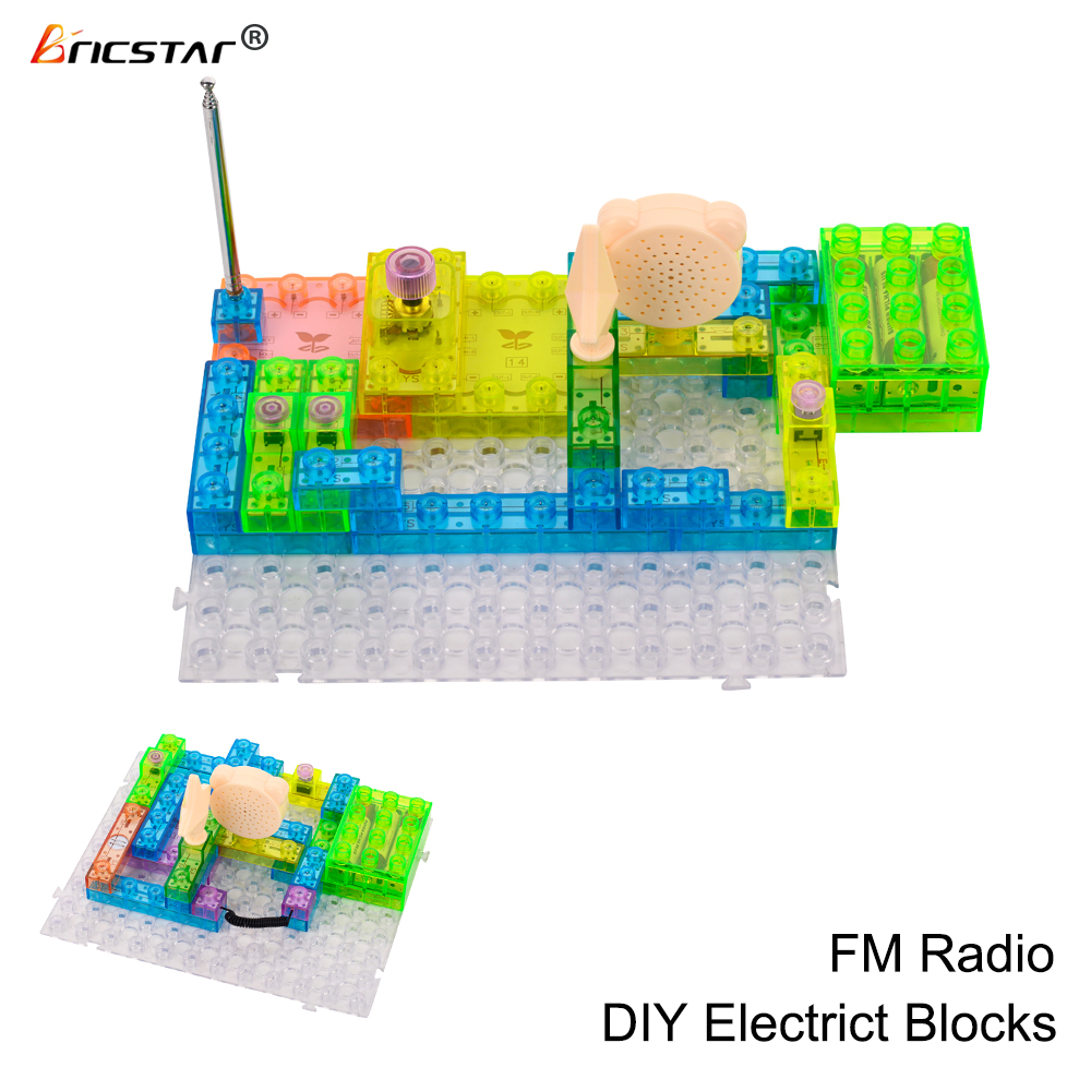 Circuit Radio Toydiy Building Block Circuit Radio Toy Product On