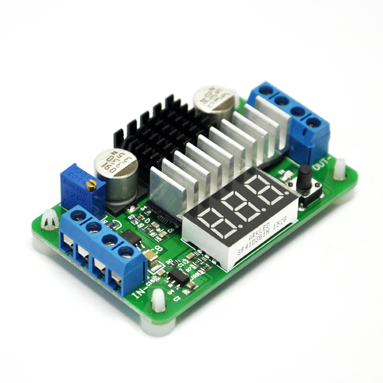 Volt meter B Boost 100W//6A 3.5V-30V DC 5V//12V LTC1871 Power Converter Regulator