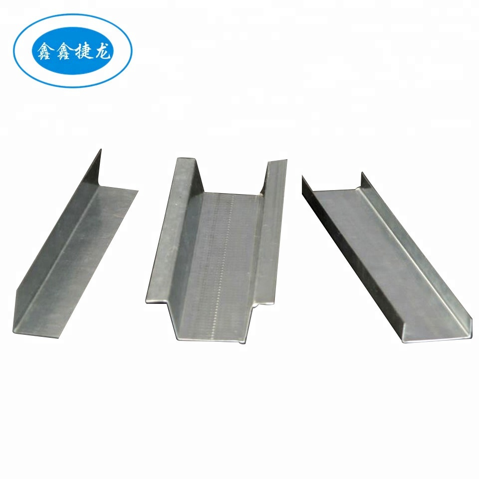 C galvanized steel channels for drywall partition and ceiling