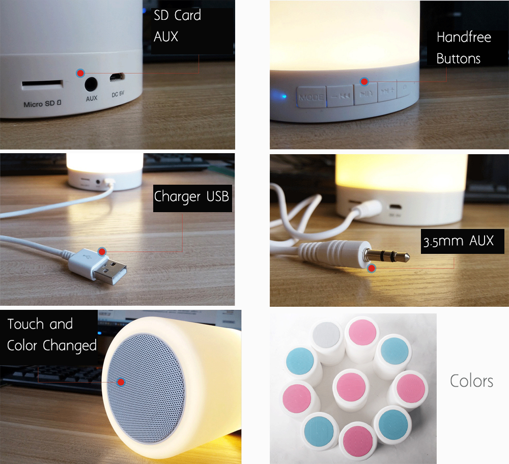 Led Wireless Speaker Bulb|colors Changeable Music Playing ...