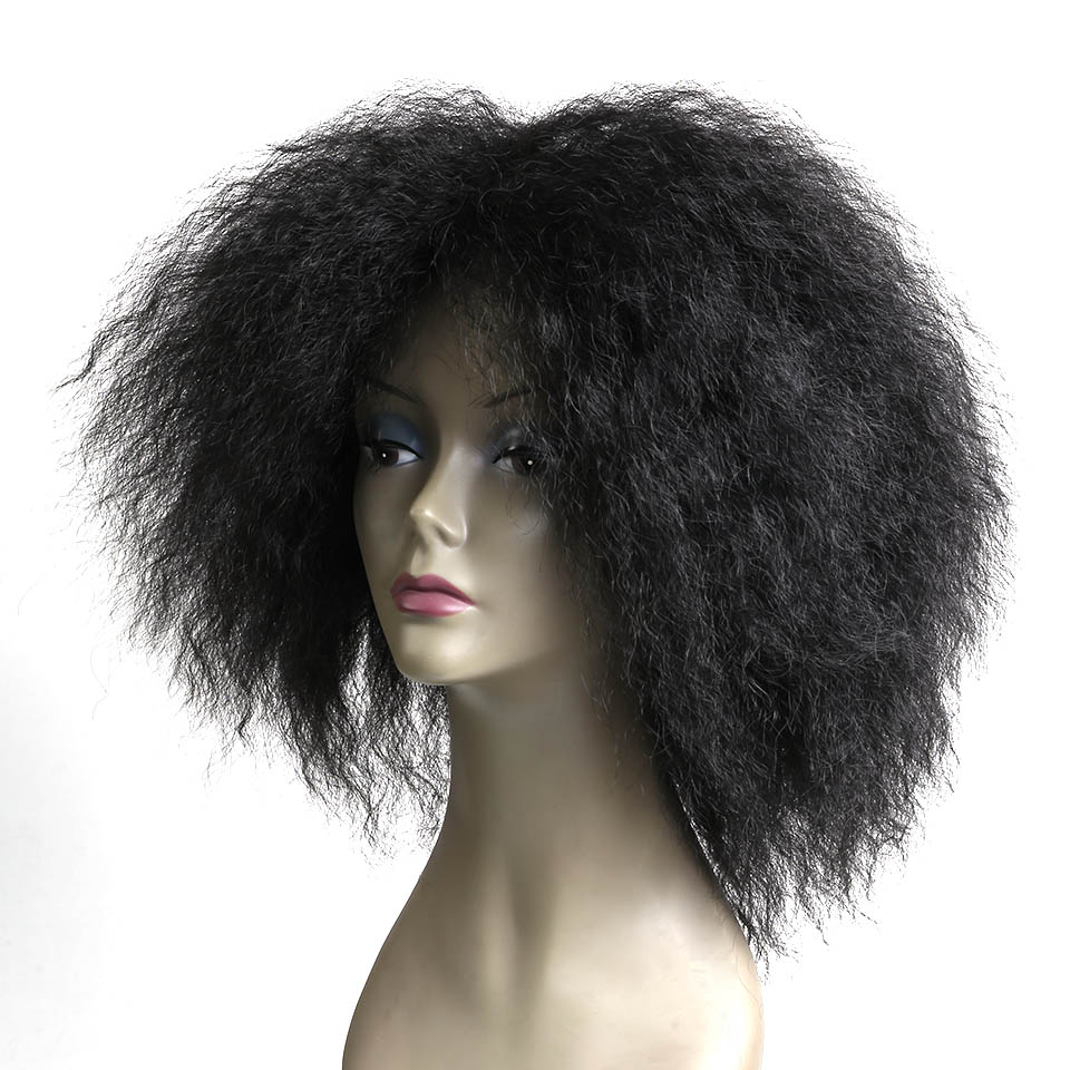 Grossiste perruques afro américaine à court-