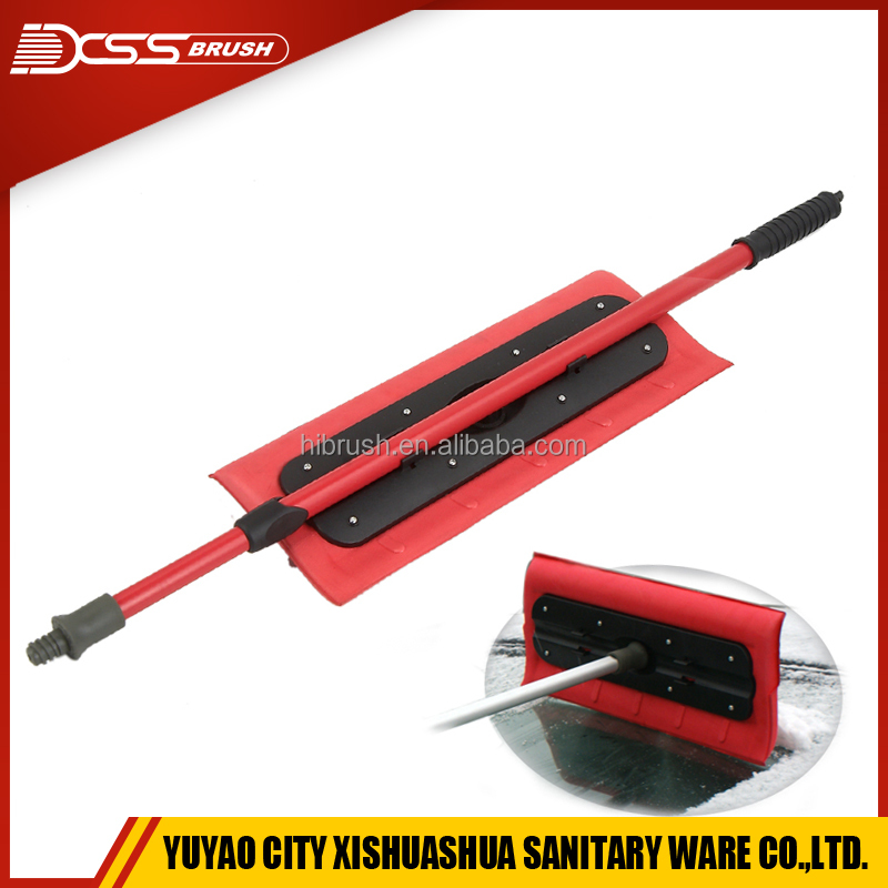 "Snow Brush Snow Removal Tool with 27"" to 46"" Telescoping Handle"