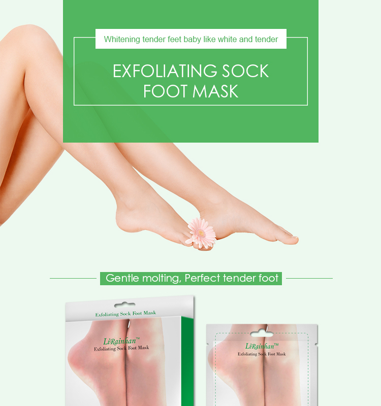 Private Label Amazon Hot Selling Exfoliërende Voet Peel Masker