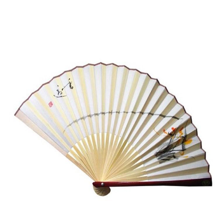 Custom paper hand fans