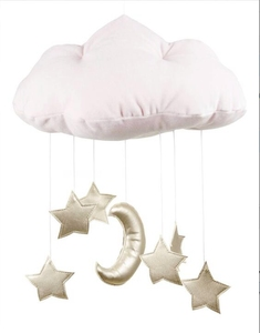 Promotional Best Selling 3D Cloud Wall Hanging Decoration Creative Cloth Fabric Cloud Hanging Drops Tent Decoration