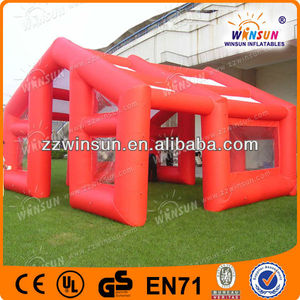 Inflatable restaurant tents,Coffee bar tent with transparent windows