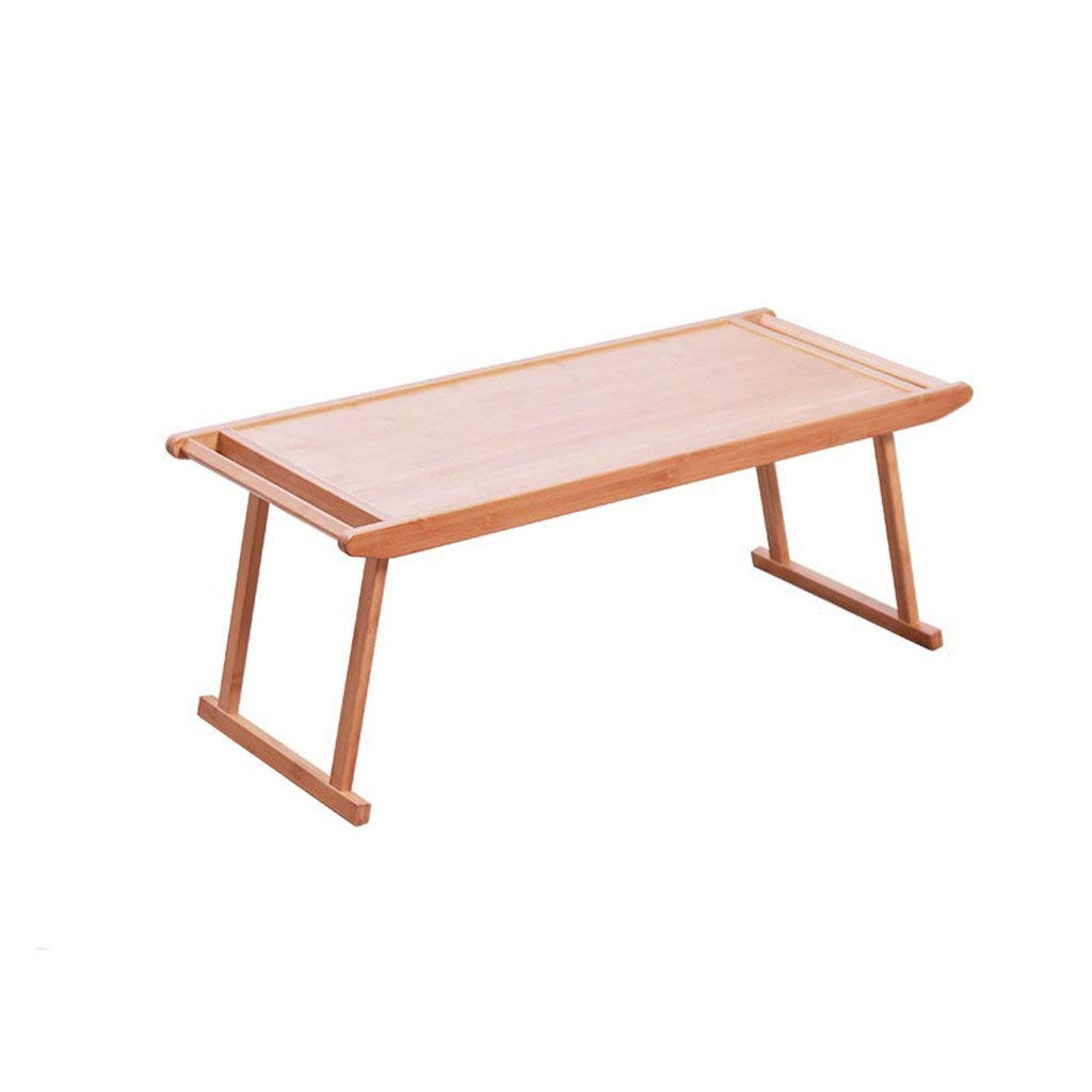 GAOYANG Adjustable Laptop Bed Frame,Small Table Coffee Table, Simple Modern Living Room Tea Table, Bamboo Mini Tea Machine, Table Rectangular Folding Small Furniture