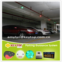 Keytop ultrasonic sensor based parking guidance system-slots finder system