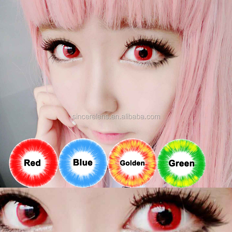 144 models cosplay halloween wholesale crazy contact lens