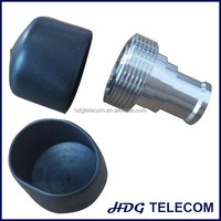 DIN female connector dust cap, RF connector protective cap, rubber type