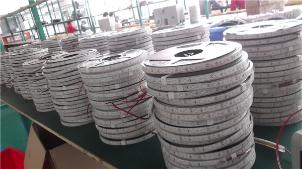 5050smd 3m Adhesive Tape Black/white 12v Ultra Bright Led Rope ...