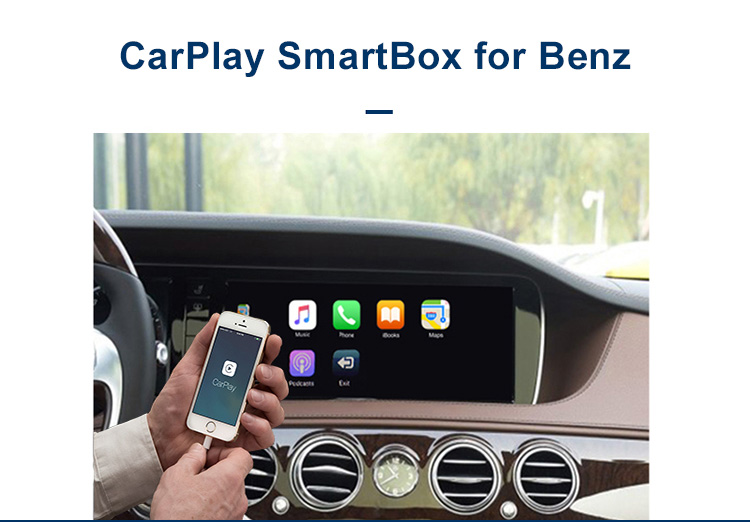 UniChip Automotive Smart Box NTG5.0 Apple Carplay 8 pollice Plug and Play per Mercedes W205 x253 Carplay