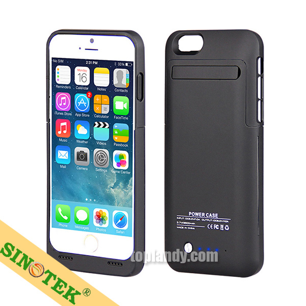 sinotek chargeurs case power 3500mah portable battery case charging for iphone 6 buy portable. Black Bedroom Furniture Sets. Home Design Ideas