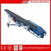Plastic wastes automatic belt convey machine