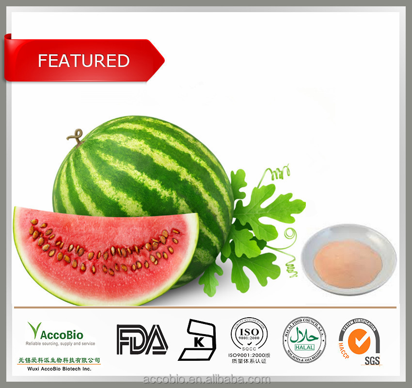 China Wholesale High Quality 100% Natural Watermelon Peel Extract ...