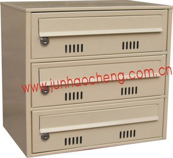 Foshan JHC 3029 (with 3 Mail Slot Cases) Manufacturer Simple Design Cluster  Mailbox