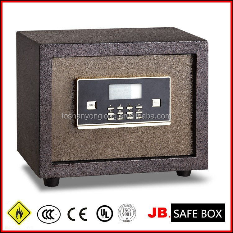 [JB]2017 High security electronic code hotel safe digital electronic flat resessed wall hidden safe jewelry security box