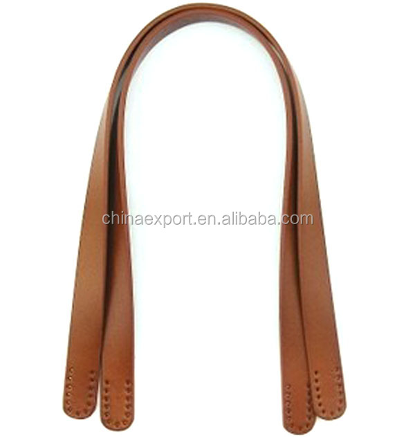Custom pu leather bag handle for handbag wholesale