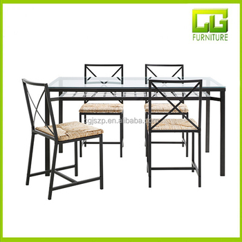 Malaysia Low Price Rectangle Glass Dining Table Sets For Sale - Buy ...