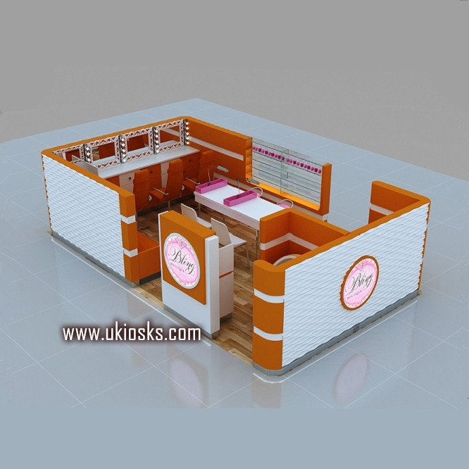 Beauty Salon Furniture Eyebrow Kiosk