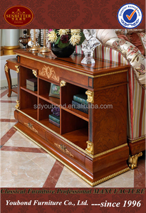 0038 Home use high-end design back cabinet European antique storage cabinet for living room cabinet