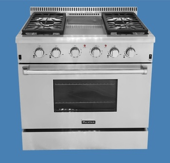 csa industrial stoves and ovens for home used with grill top stainless steel gas stove