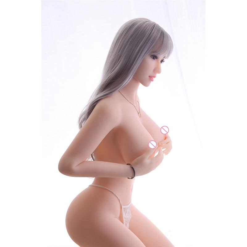 5.41ft(165cm) Realistic Solid Adult Love Doll Sexy <strong>Girl</strong> Real Doll Sex Silicone with 3 Entrances