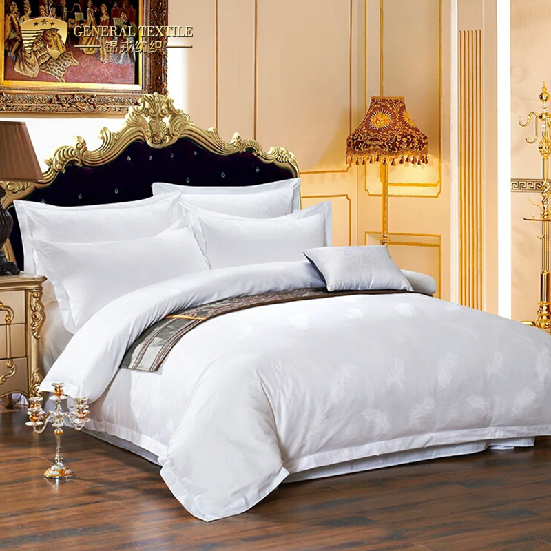 Comfortable and Luxury Cheap Satin Cotton Bedding Set for Bedroom