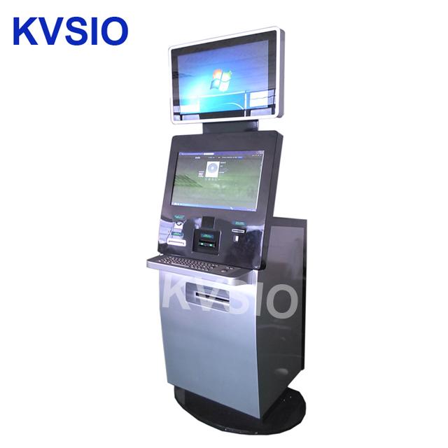 เสียงระบบร้านอาหารสั่งซื้อเครื่อง self service kiosk vm เครื่องจำหน่ายตั๋ว visitor