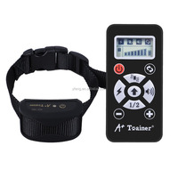 A+ Trainer new pet products 800Yard remote dog train collar with anti bark control collar