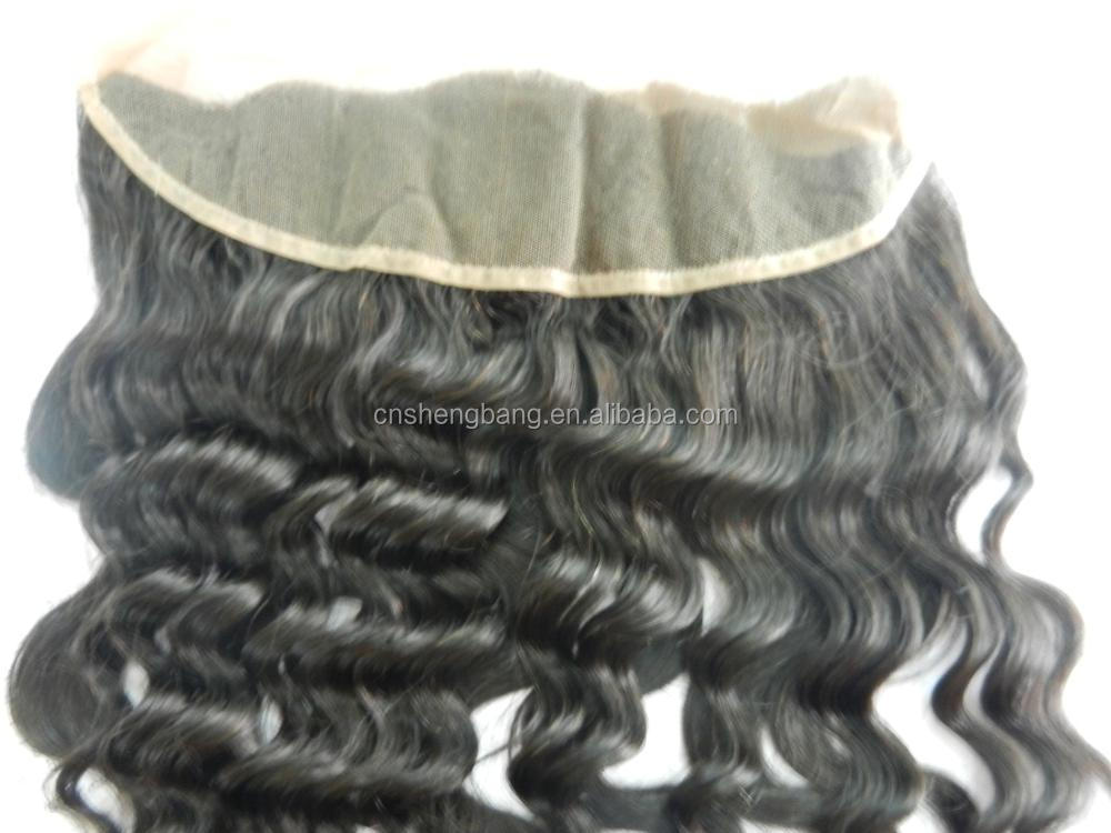 "Human hair closure,hidden knots closure frotal and 360,grade 6A,4""*4""/ 14"" x 3"" hair weaving closures"