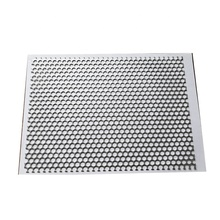 Round hole punching titanium perforated stainless steel wire mesh