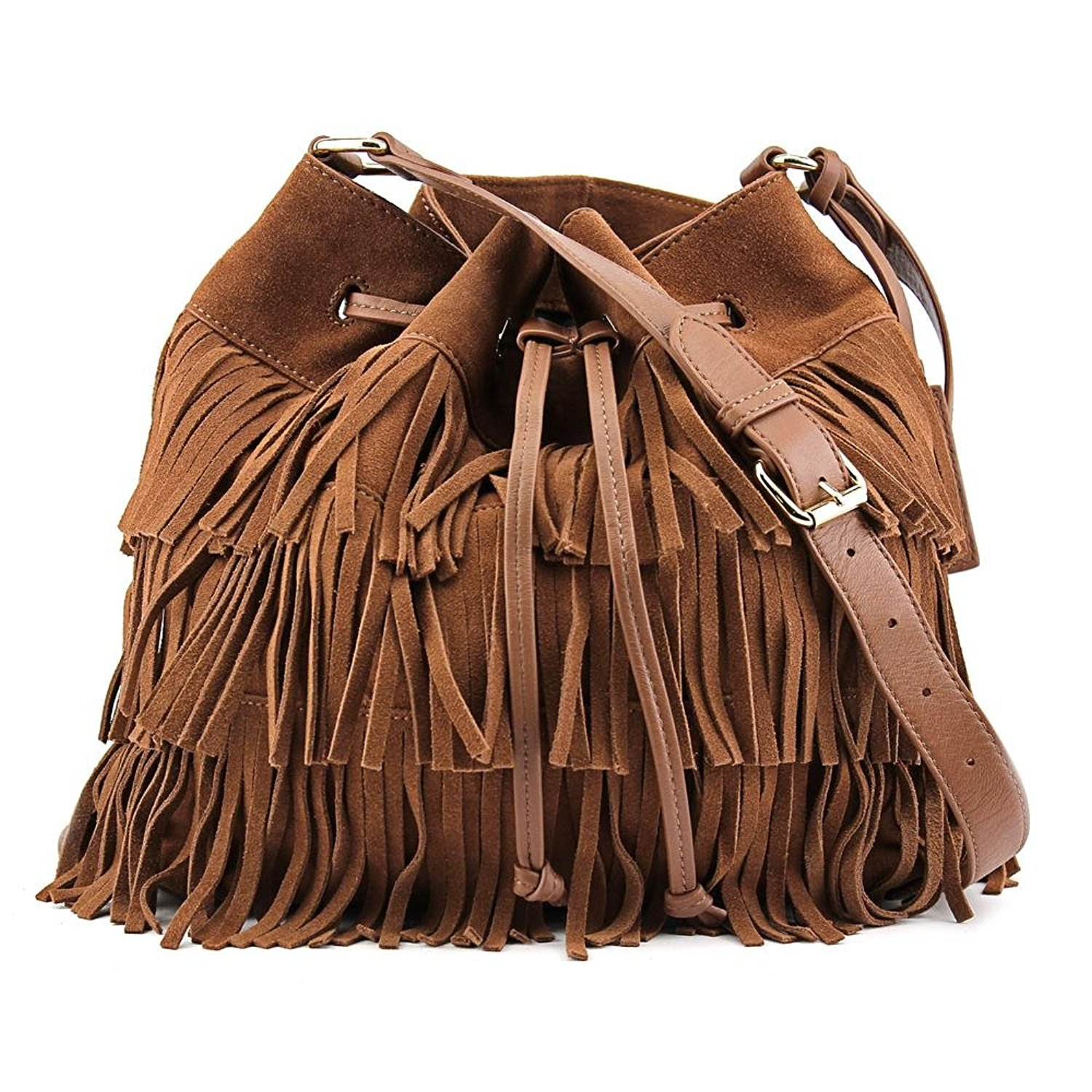 67e7f0ddfc Get Quotations · Vince Camuto Riqui Hobo Bag Women Brown Hobo