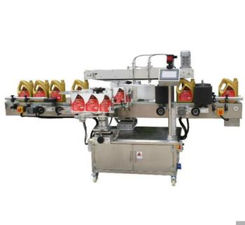Well known brand Shanghai Factory Automatic Double Sides Labeling Machinery And Square bottle Labeling machine