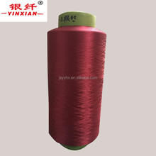 buy direct from china factory 70 denier polyester yarn dyeing yarn