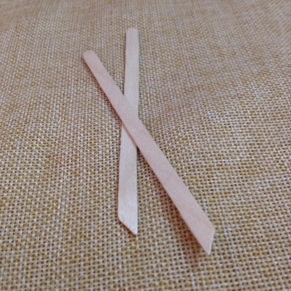 Long wooden craft sticks - 11cm Long Wood Craft Sticks With One Sharp End