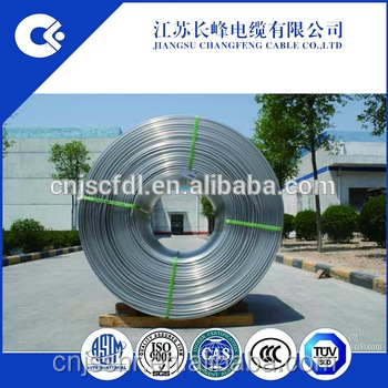 Aluminum rod/wire 6101 9.5mm ASTM-B398