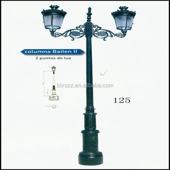 Cast iron garden lamp postlight polestreetoutdoor lighting post cast iron garden lamp post light pole streetoutdoor lighting post mozeypictures Images