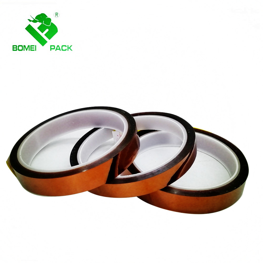Hoge temperatuur dubbele side amber polyimide tape