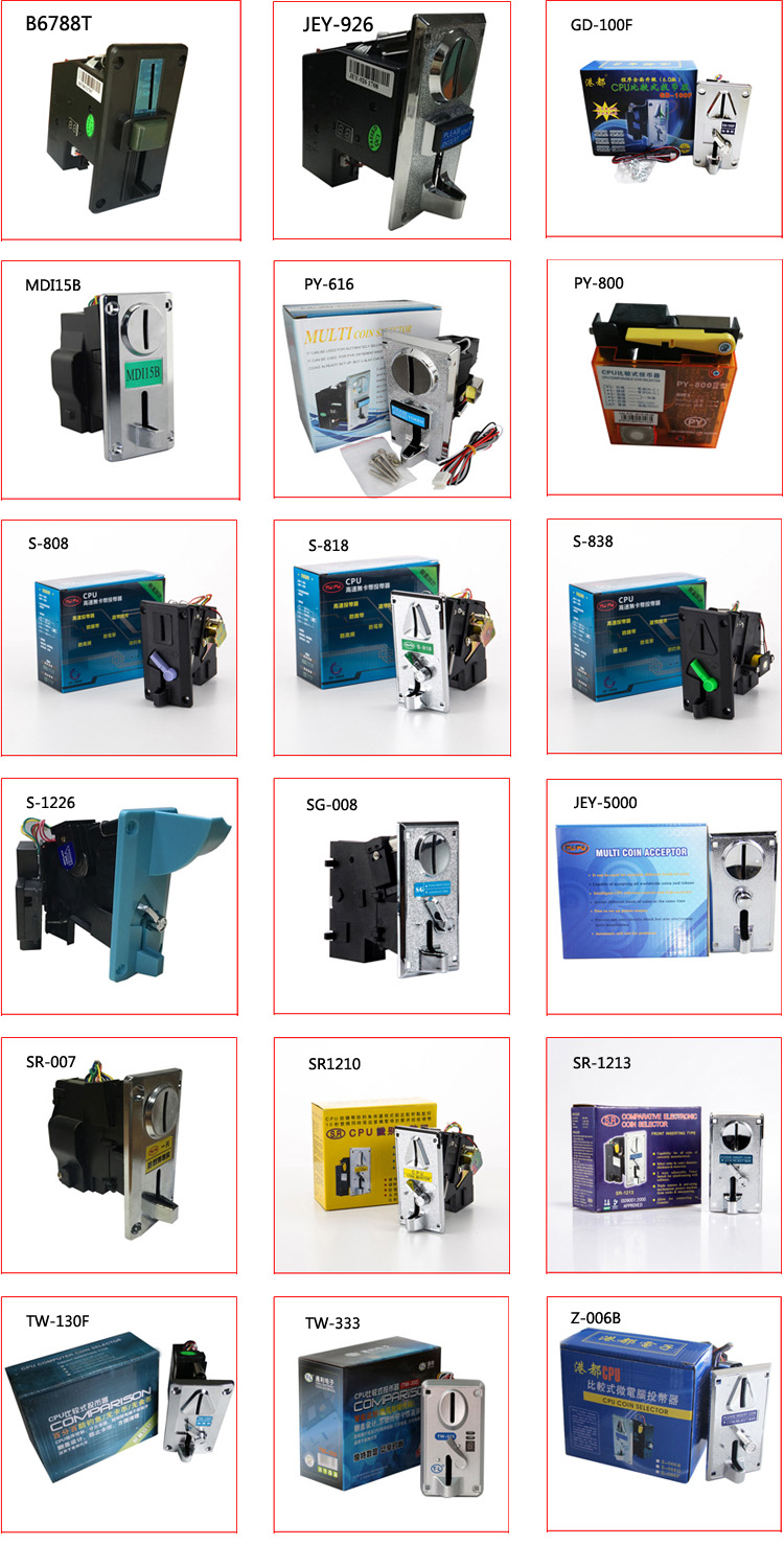 Mechanical Coin Acceptor For Vending Machines Coin Mechanism For