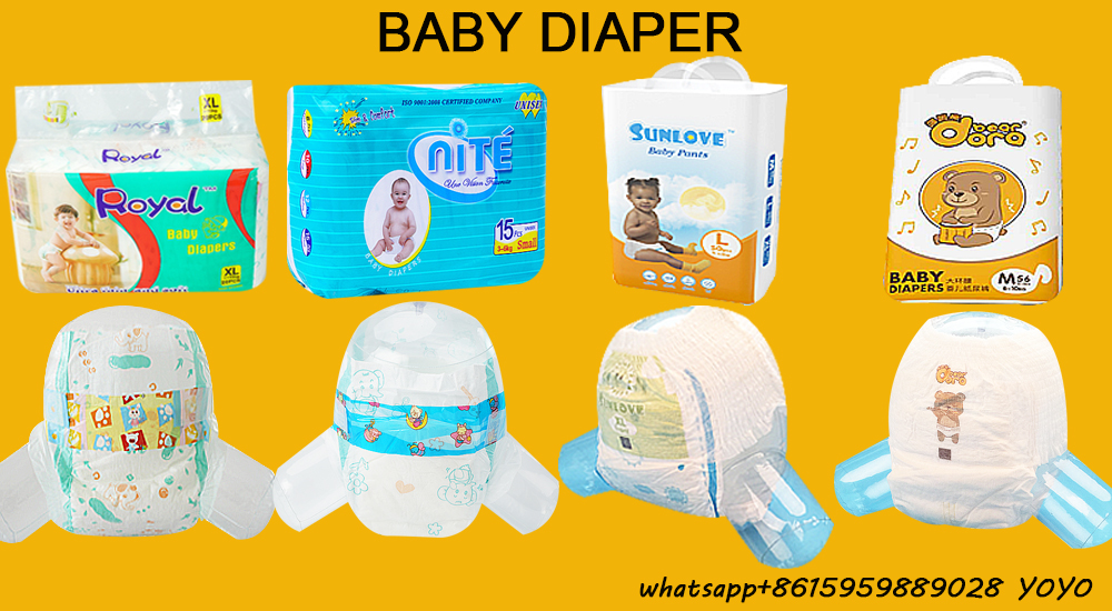 Descartável Do Tecido Do Bebê Nappy mimos Do Produto de Venda Quente do bebê-Fraldas secas Fabricante made in China