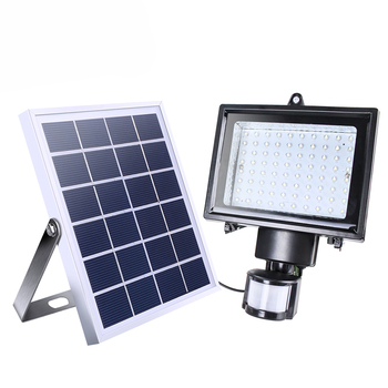 Xinree Sl 70c Outdoor Auto Motion Sensor Led Solar Spotlight For Garden Wall And Lawn