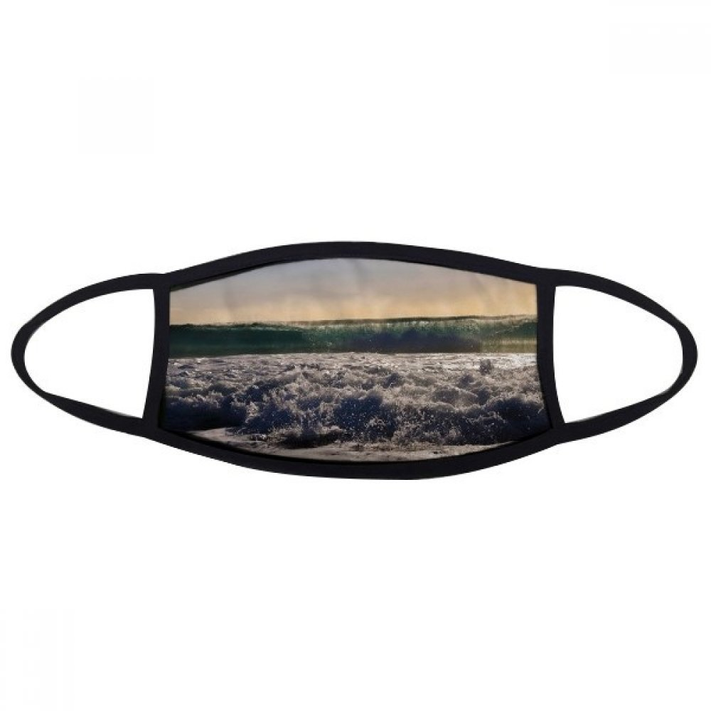 DIYthinker Sunshine Ocean Water Wave Science Nature Picture Face Anti-dust Mask Anti Cold Maske Gift