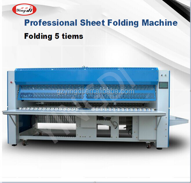 quilts bed sheets & towels Industrial automatic folding machine for laundry shop,hospital,hotel