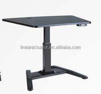 Small Electrical Height Adjustable Table with one lifting column
