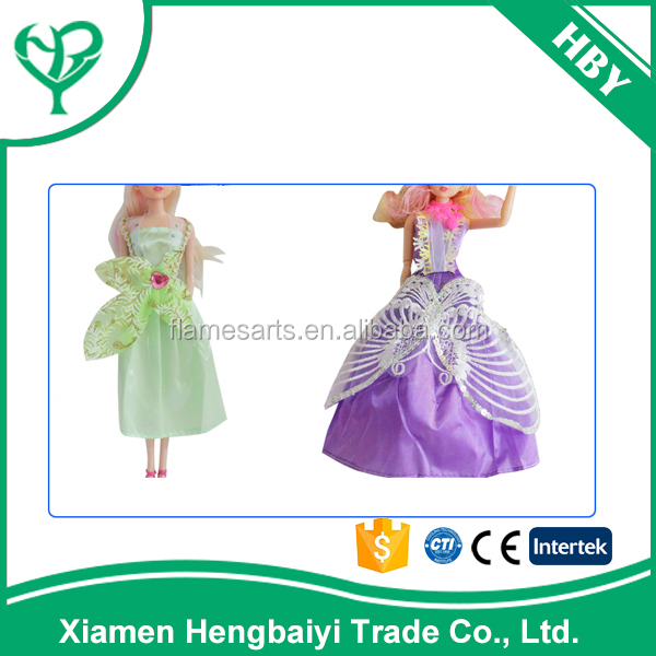 Best Price Mini Clothing Toy Beautiful Doll Dress Pattern For Sale