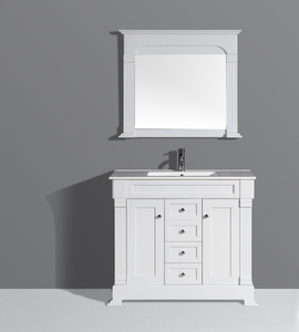 American Standard Furniture Modern Waterproof Wood I Shaped Bathroom Vanity