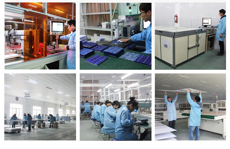 chinese supplier Aluminum alloy frame and high solar cell efficiency 100watt monocrystal photovoltaic panels