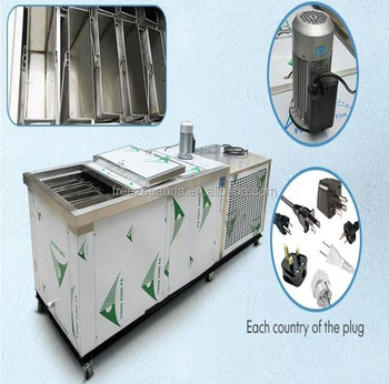 1 ton per day industrial block ice crusher machine solar ice block machine block ice making machine